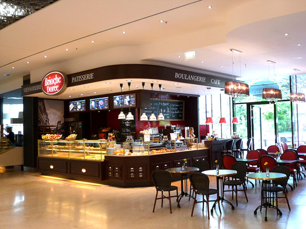 Ladeneinrichtung Bäckerei