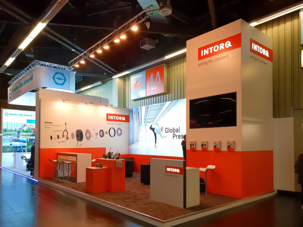 Intorq Messestand 2018 in Nürnberg