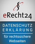 eRecht Datenschutzerklärung