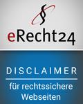 eRecht Disclaimer